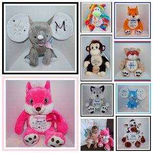 Personalised Plush Toys