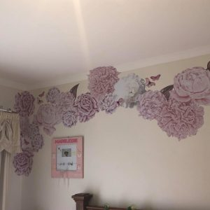 Wall Decal Floral